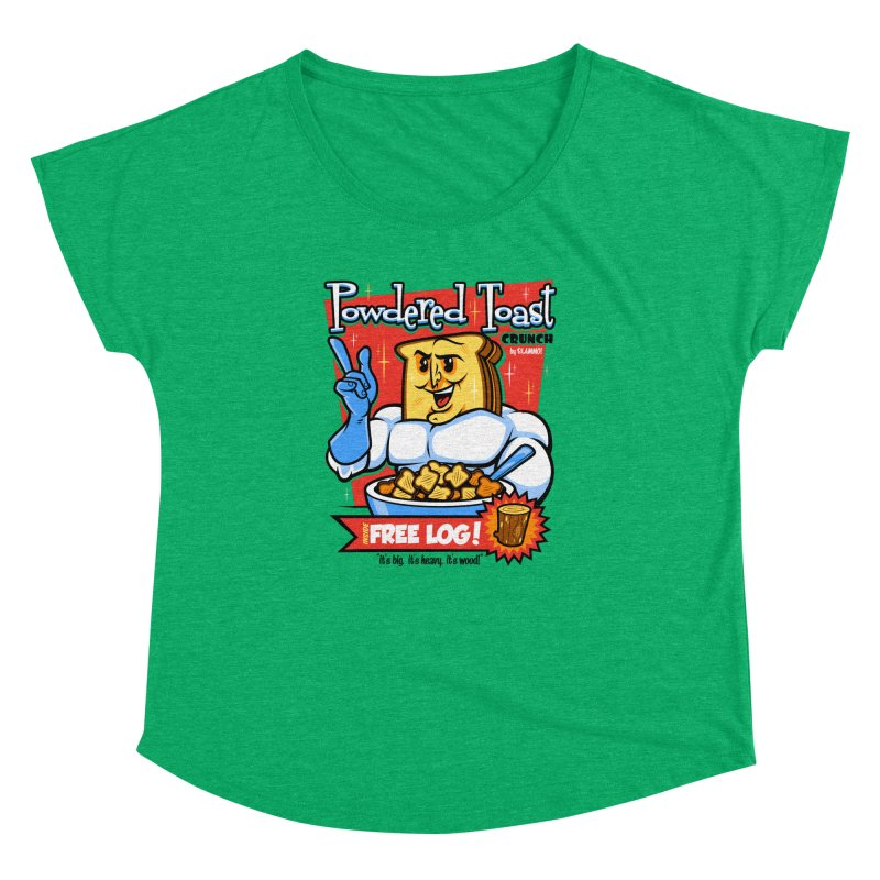 Powdered Toast Crunch Women's Dolman by harebrained's Artist Shop