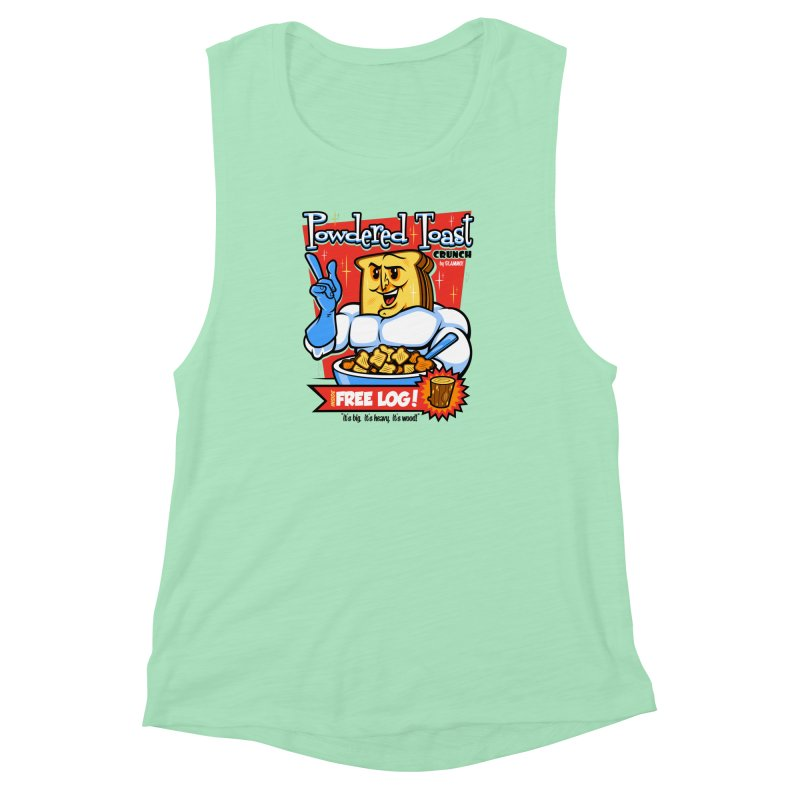 Powdered Toast Crunch Women's Muscle Tank by harebrained's Artist Shop