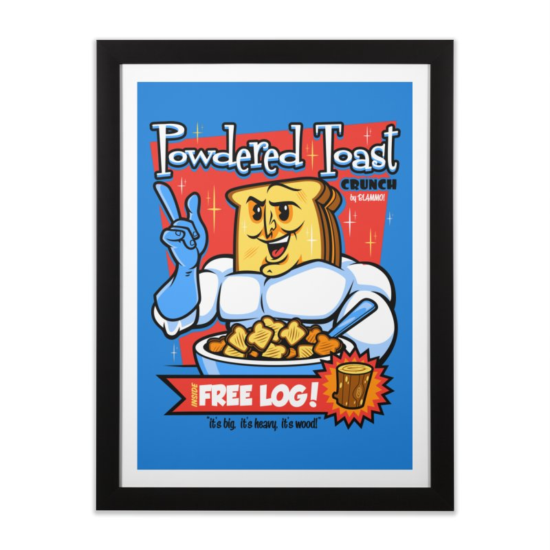 Powdered Toast Crunch Home Framed Fine Art Print by harebrained's Artist Shop