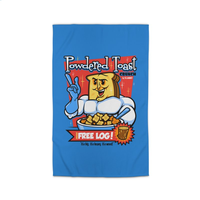 Powdered Toast Crunch Home Rug by harebrained's Artist Shop