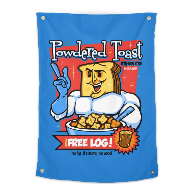 Powdered Toast Crunch Home Tapestry by harebrained's Artist Shop