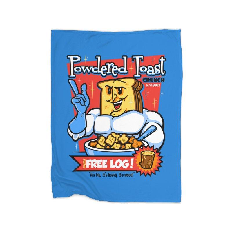 Powdered Toast Crunch Home Fleece Blanket Blanket by harebrained's Artist Shop