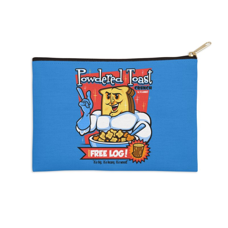 Powdered Toast Crunch Accessories Zip Pouch by harebrained's Artist Shop