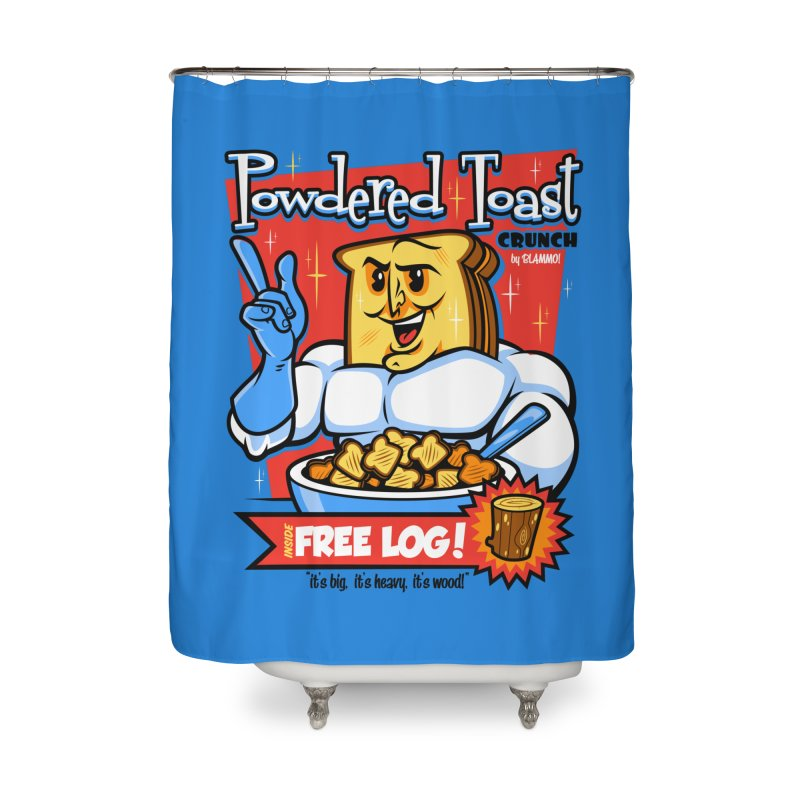 Powdered Toast Crunch Home Shower Curtain by harebrained's Artist Shop