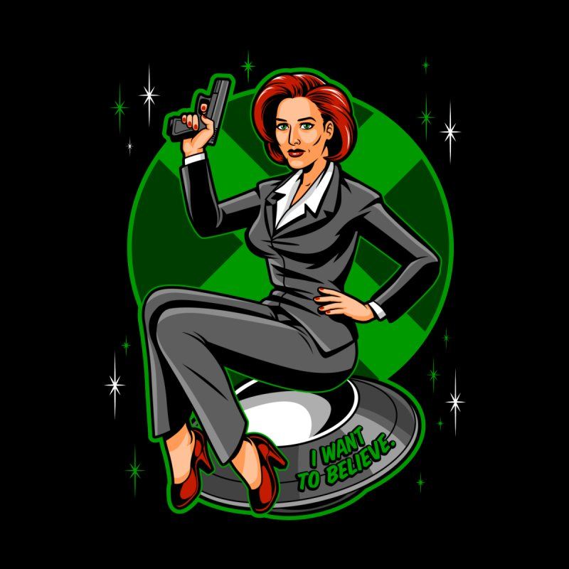 Scully Pin-Up Accessories Bag by harebrained's Artist Shop