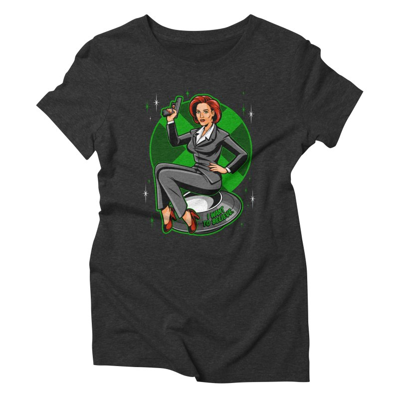 Scully Pin-Up   by harebrained's Artist Shop
