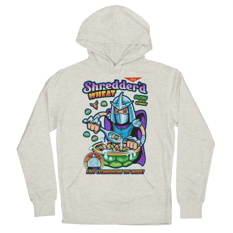 Shredder'd Wheat Women's French Terry Pullover Hoody by harebrained's Artist Shop