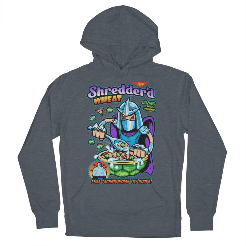 Shredder'd Wheat Men's French Terry Pullover Hoody by harebrained's Artist Shop