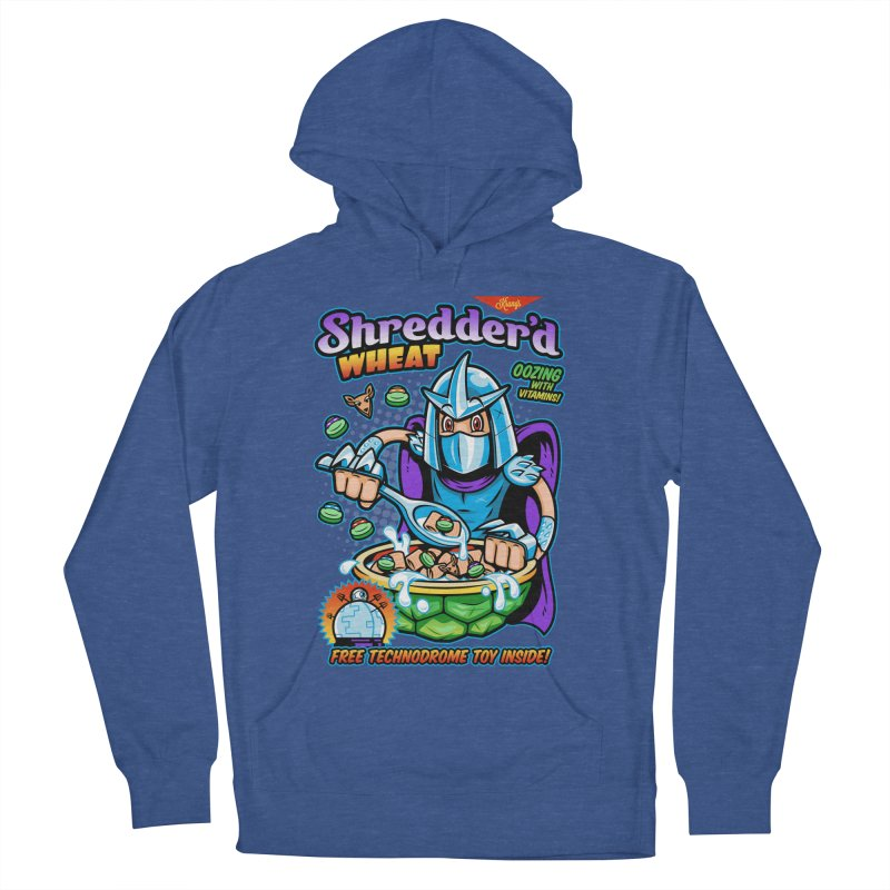 Shredder'd Wheat Men's Pullover Hoody by harebrained's Artist Shop