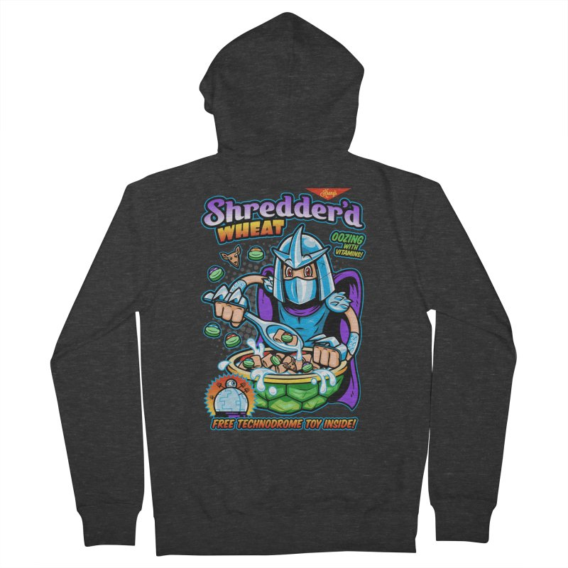 Shredder'd Wheat Women's Zip-Up Hoody by harebrained's Artist Shop