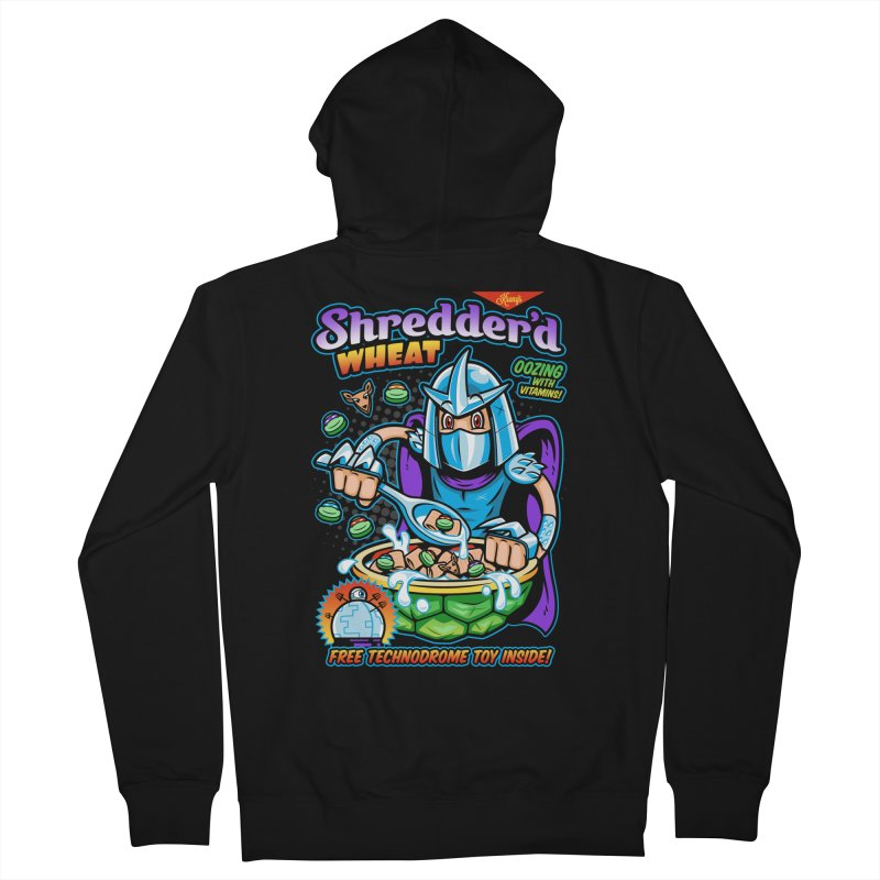 Shredder'd Wheat Men's Zip-Up Hoody by harebrained's Artist Shop