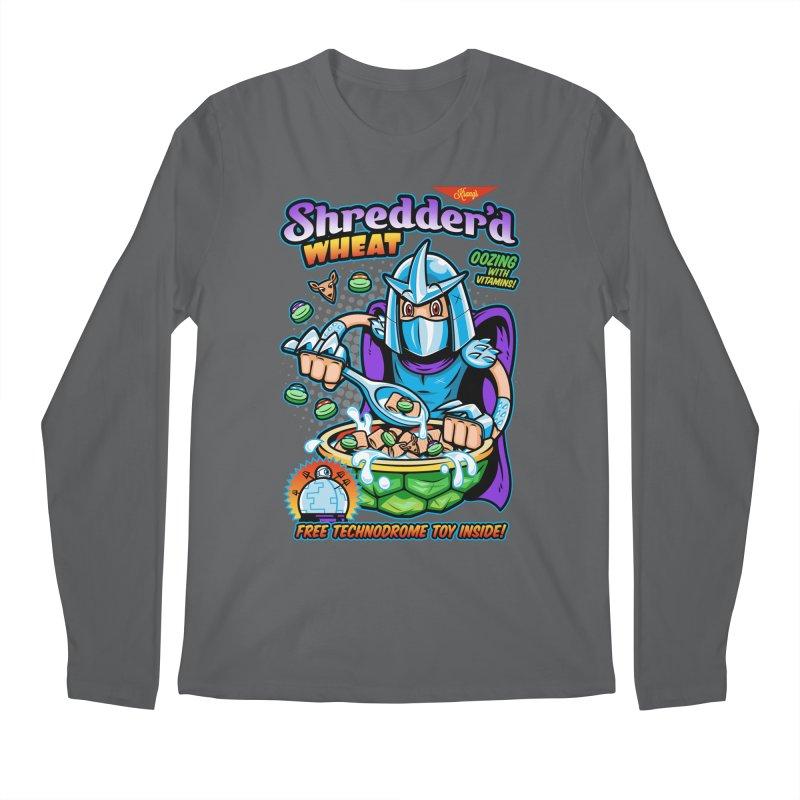 Shredder'd Wheat Men's Longsleeve T-Shirt by harebrained's Artist Shop