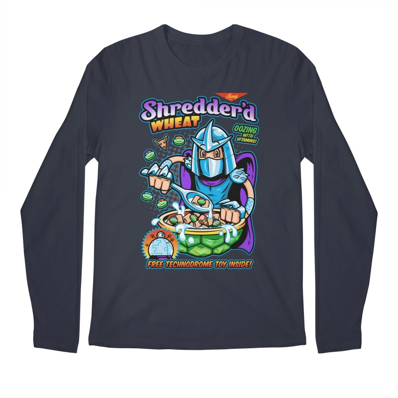Shredder'd Wheat Men's Longsleeve T-Shirt by harebrained's Artist Shop