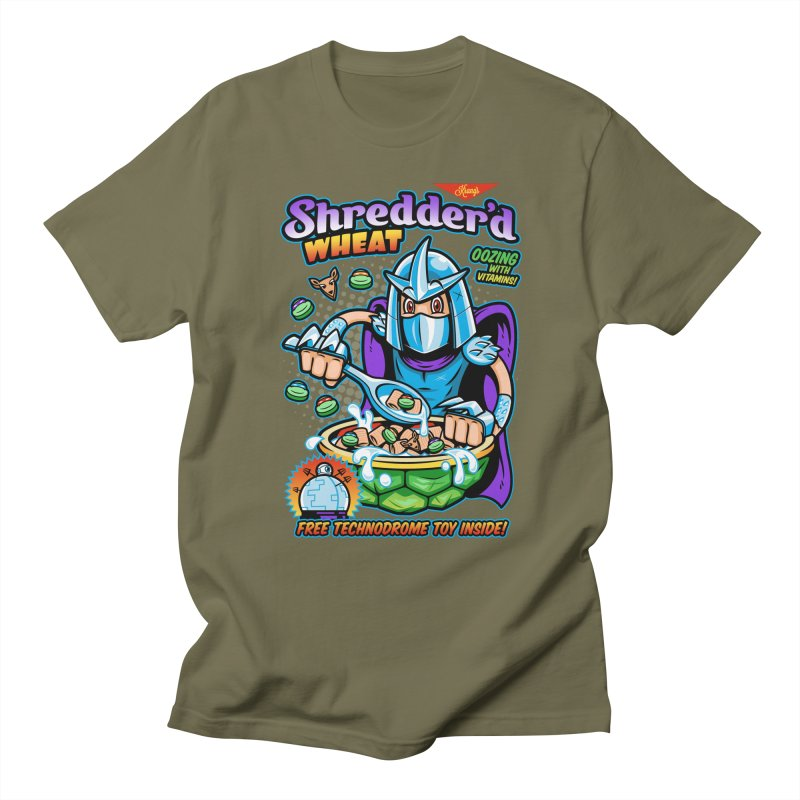 Shredder'd Wheat Women's Regular Unisex T-Shirt by harebrained's Artist Shop