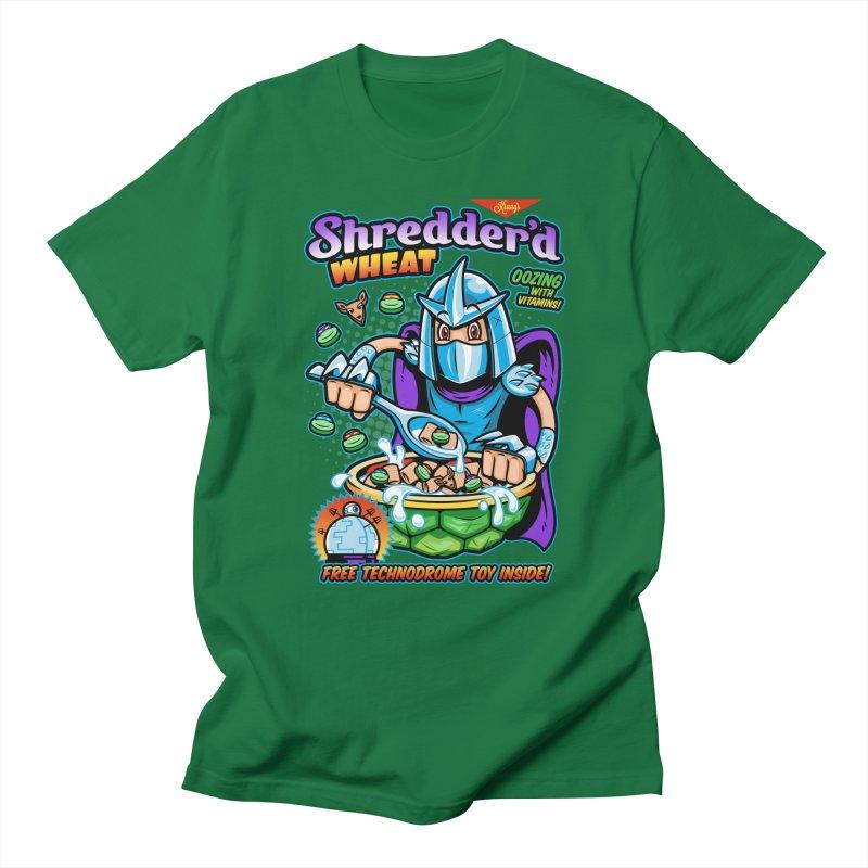 Shredder'd Wheat Men's T-shirt by harebrained's Artist Shop