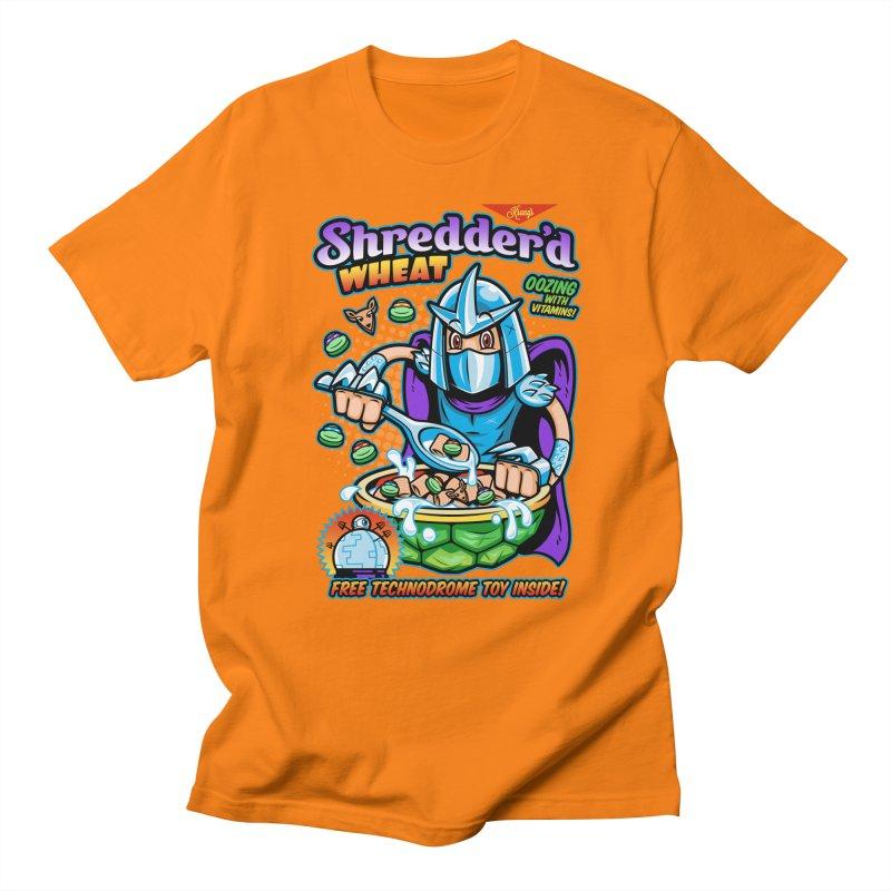 Shredder'd Wheat Men's Regular T-Shirt by harebrained's Artist Shop