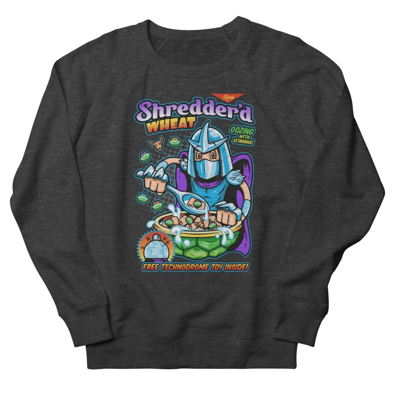 Shredder'd Wheat Women's French Terry Sweatshirt by harebrained's Artist Shop