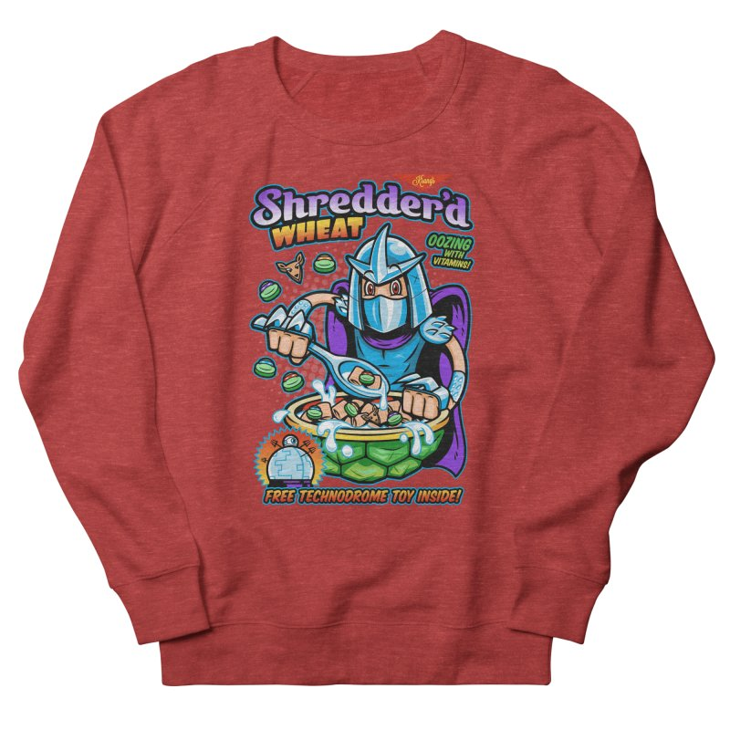 Shredder'd Wheat Women's French Terry Sweatshirt by harebrained's Artist Shop