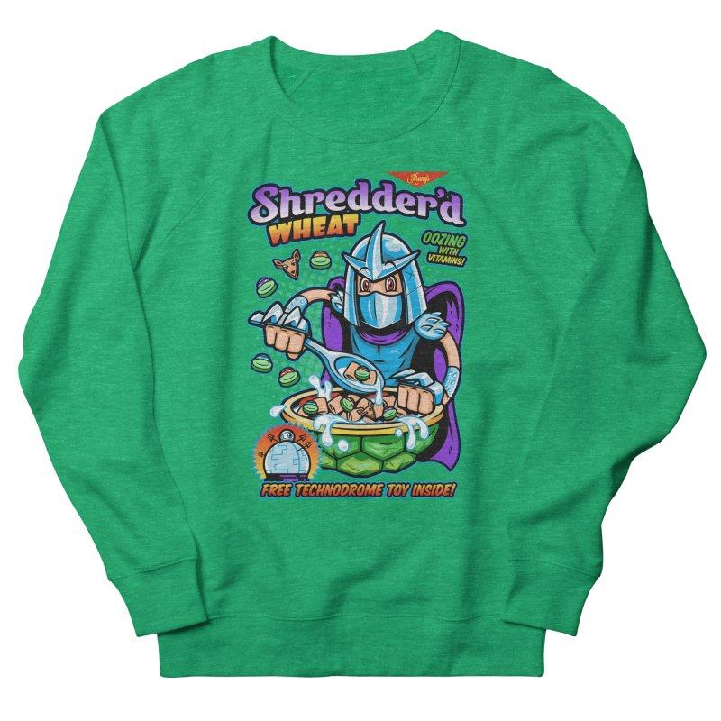 Shredder'd Wheat Men's French Terry Sweatshirt by harebrained's Artist Shop
