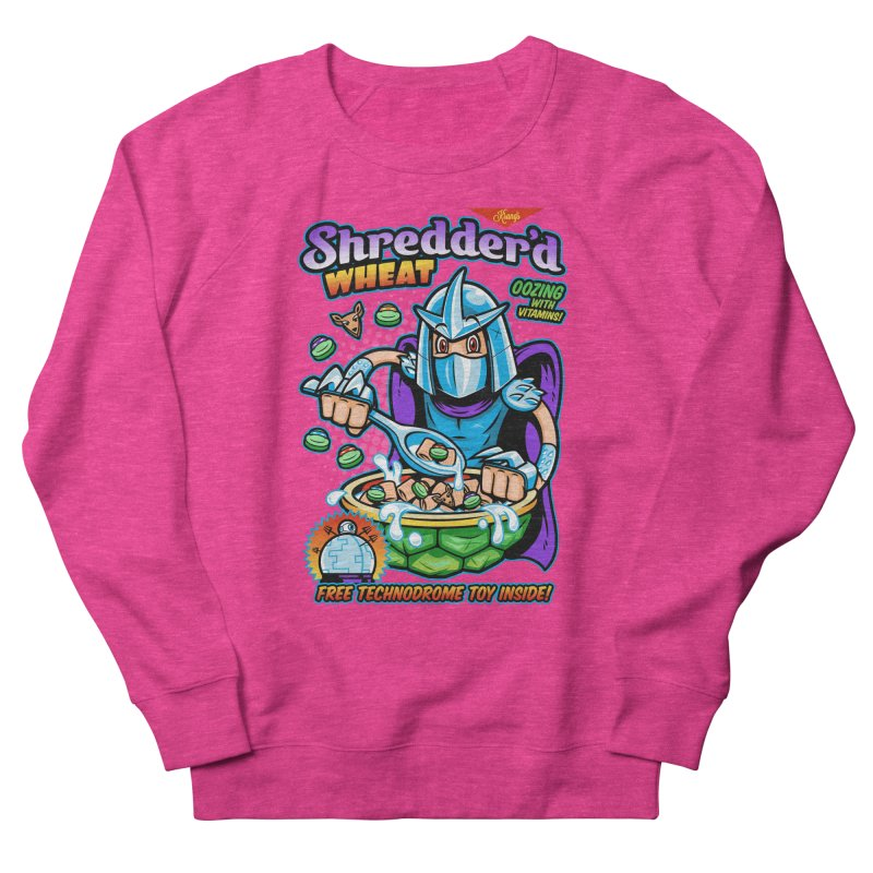 Shredder'd Wheat Men's Sweatshirt by harebrained's Artist Shop