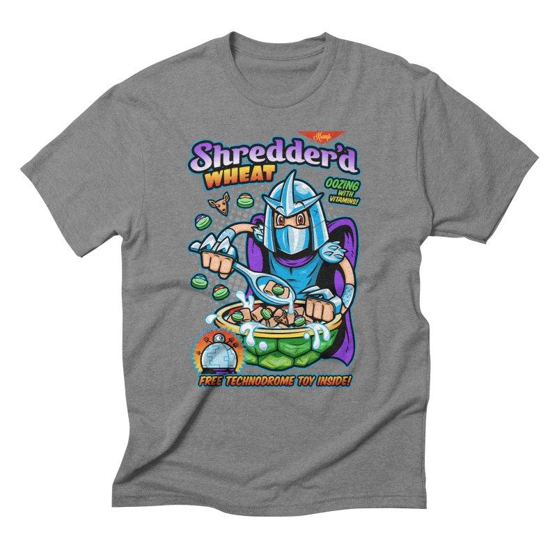 Shredder'd Wheat Men's Triblend T-Shirt by harebrained's Artist Shop
