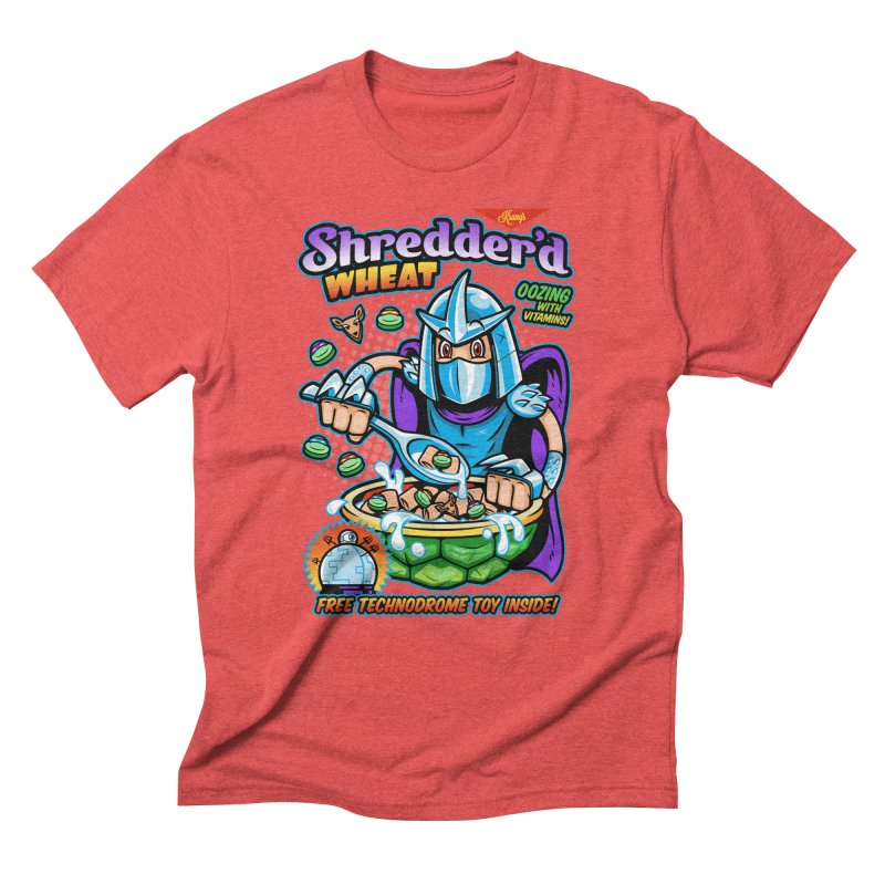 Shredder'd Wheat Men's Triblend T-Shirt by harebrained's Artist Shop