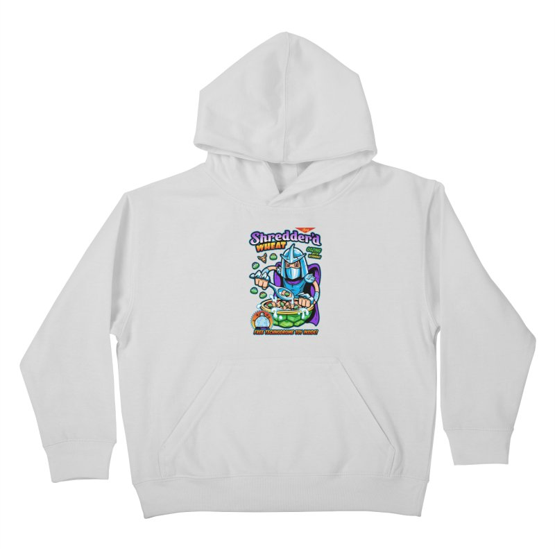 Shredder'd Wheat Kids Pullover Hoody by harebrained's Artist Shop