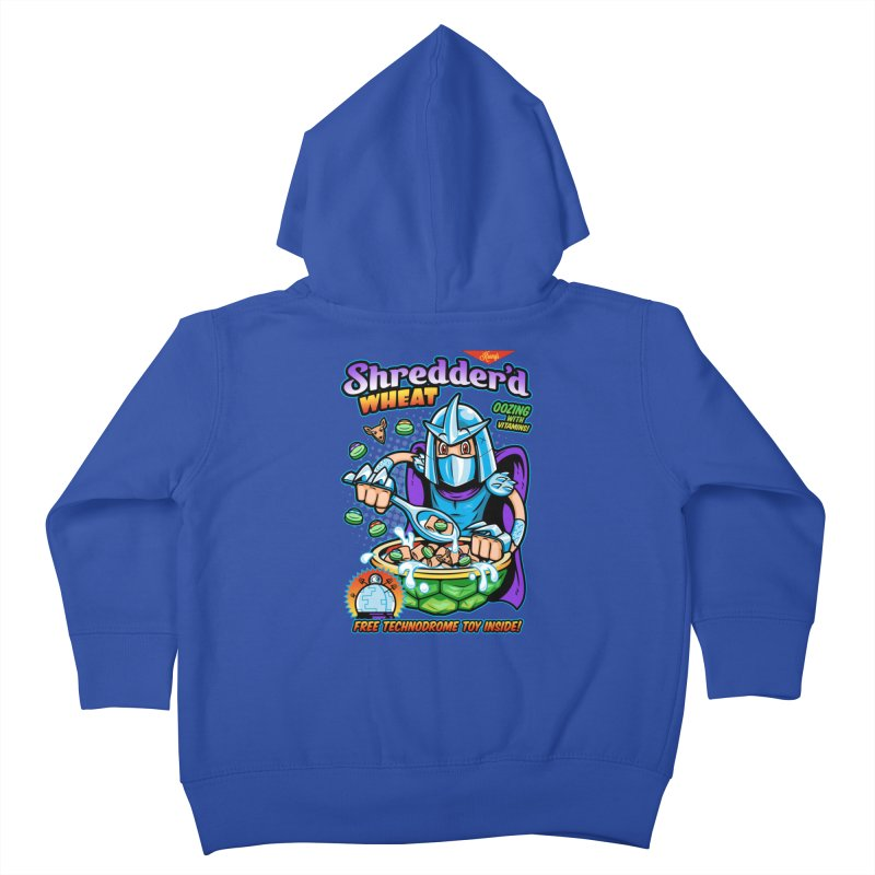 Shredder'd Wheat Kids Toddler Zip-Up Hoody by harebrained's Artist Shop
