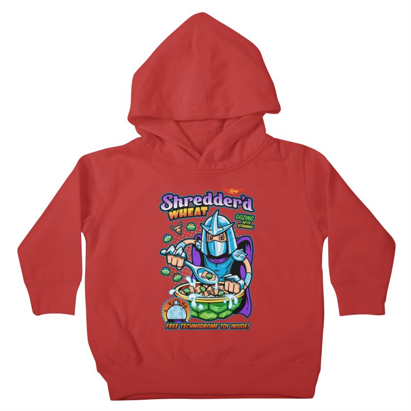 Shredder'd Wheat Kids Toddler Pullover Hoody by harebrained's Artist Shop