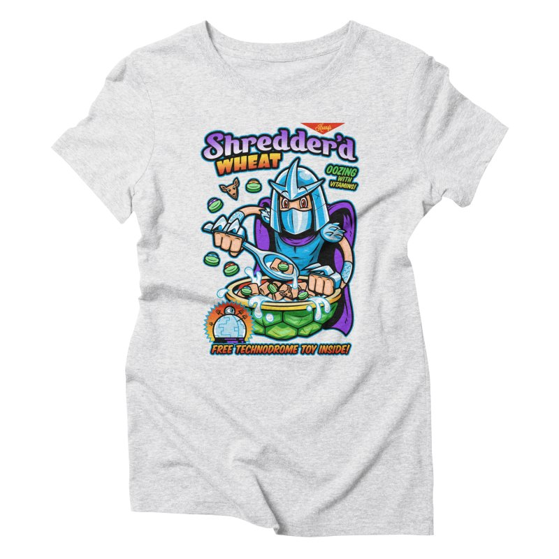 Shredder'd Wheat Women's Triblend T-Shirt by harebrained's Artist Shop