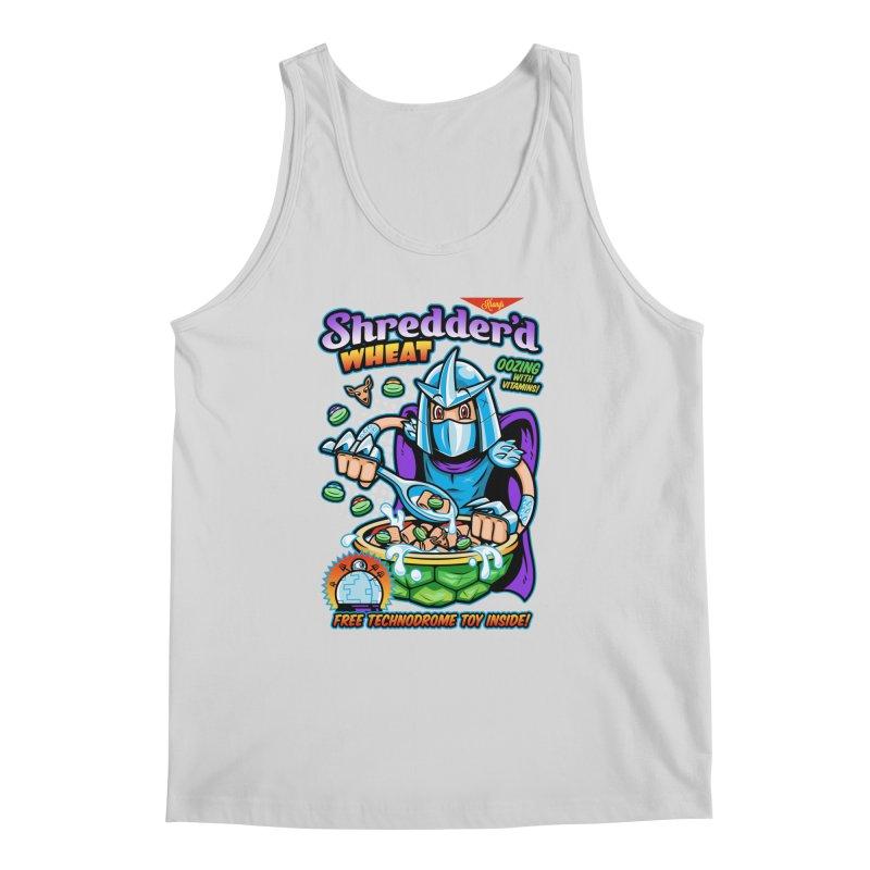 Shredder'd Wheat Men's Regular Tank by harebrained's Artist Shop