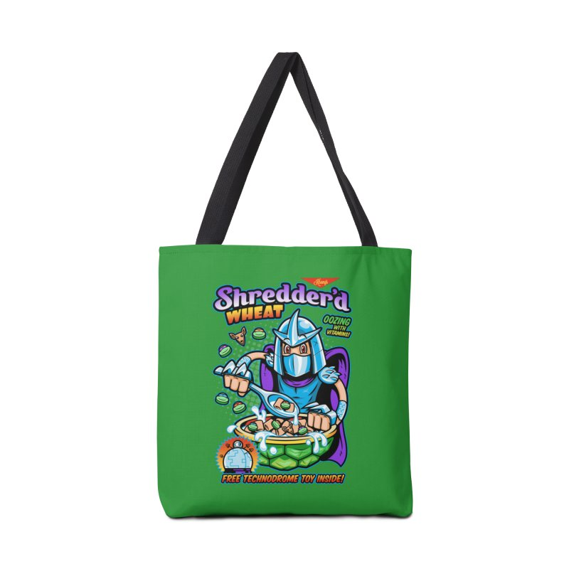 Shredder'd Wheat Accessories Bag by harebrained's Artist Shop