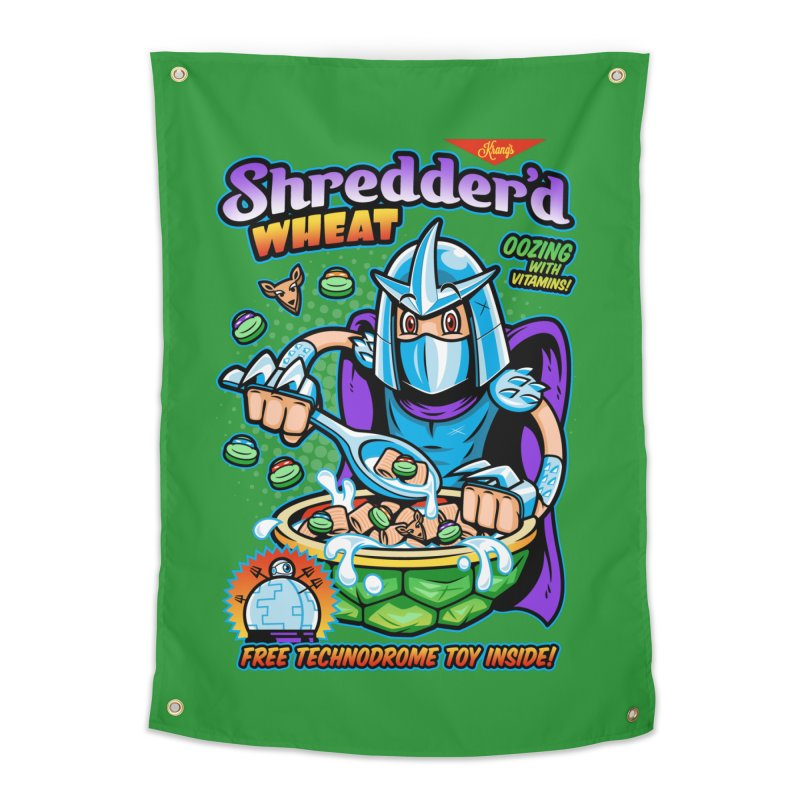 Shredder'd Wheat Home Tapestry by harebrained's Artist Shop