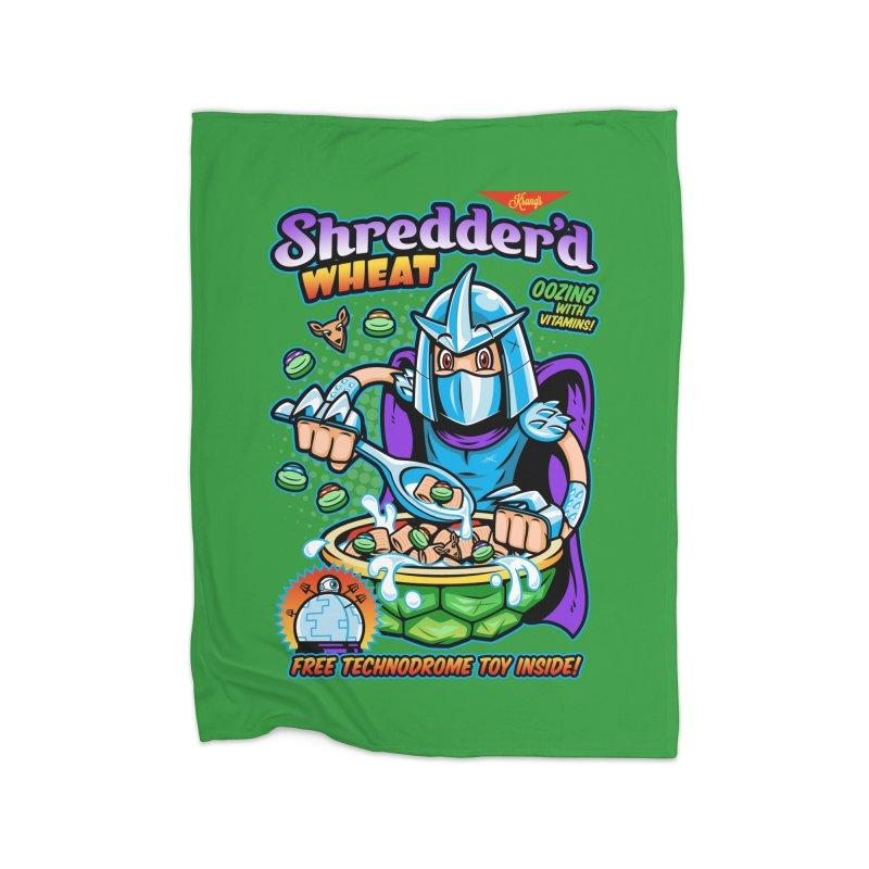 Shredder'd Wheat Home Blanket by harebrained's Artist Shop