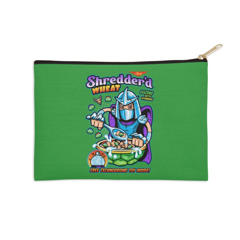 Shredder'd Wheat Accessories Zip Pouch by harebrained's Artist Shop