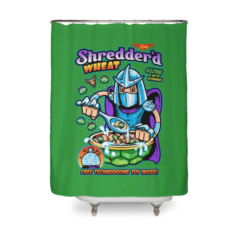 Shredder'd Wheat Home Shower Curtain by harebrained's Artist Shop