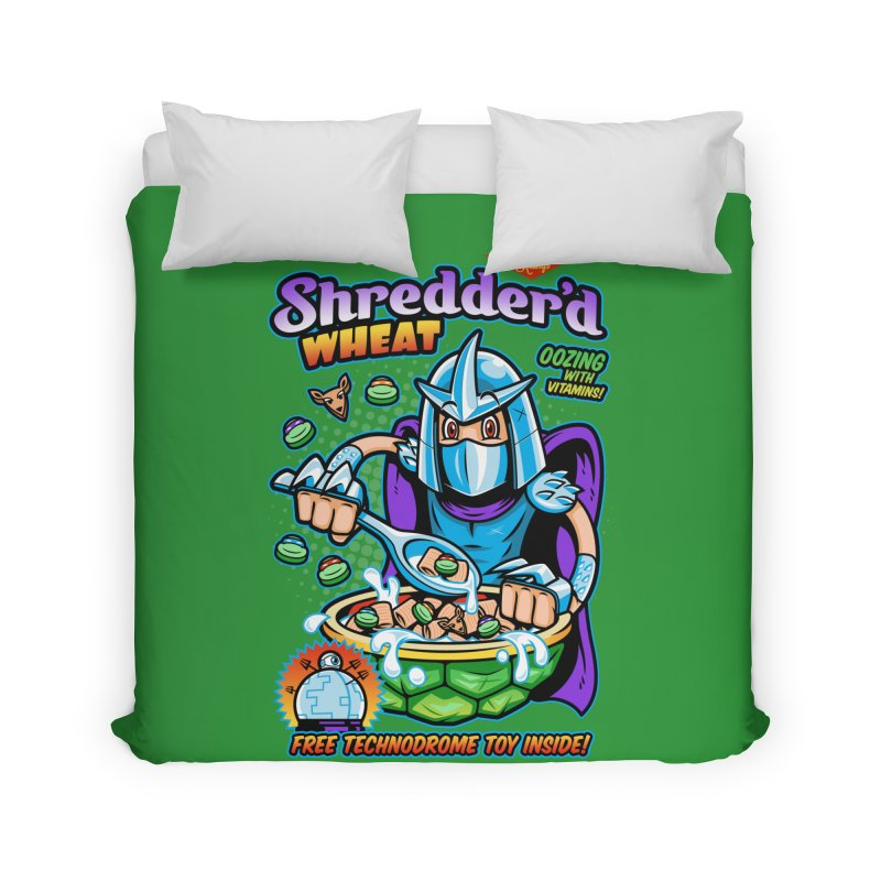 Shredder'd Wheat Home Duvet by harebrained's Artist Shop
