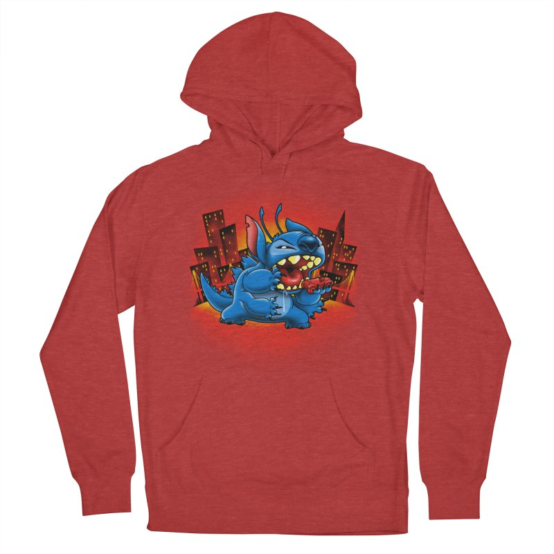 Stitchzilla Women's French Terry Pullover Hoody by harebrained's Artist Shop