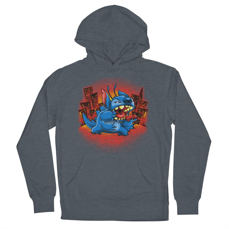Stitchzilla Men's French Terry Pullover Hoody by harebrained's Artist Shop