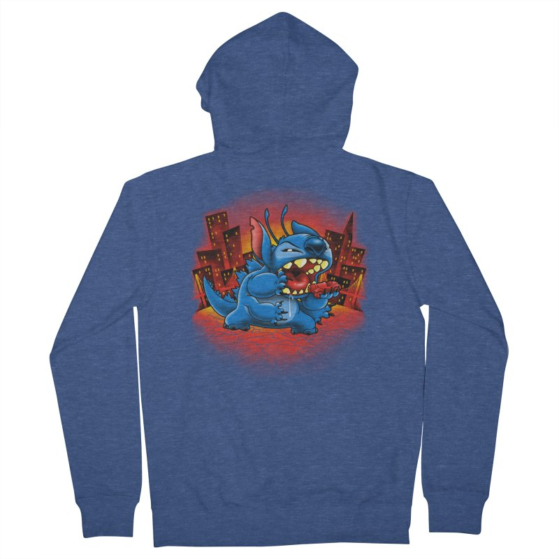 Stitchzilla Women's Zip-Up Hoody by harebrained's Artist Shop