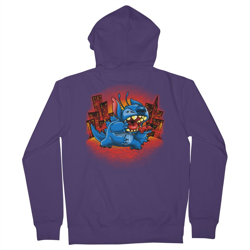 Stitchzilla Women's French Terry Zip-Up Hoody by harebrained's Artist Shop