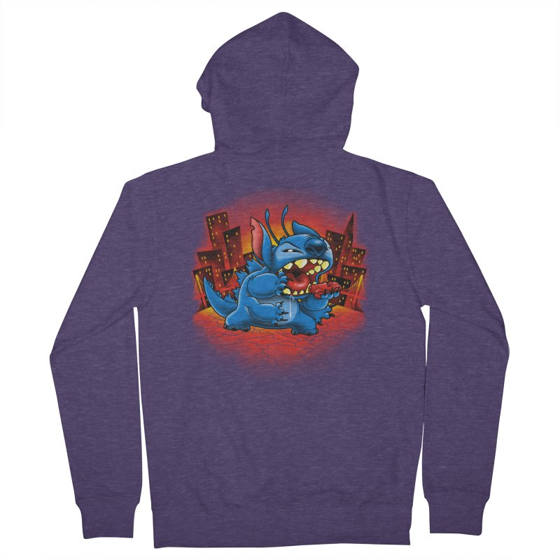Stitchzilla Men's French Terry Zip-Up Hoody by harebrained's Artist Shop