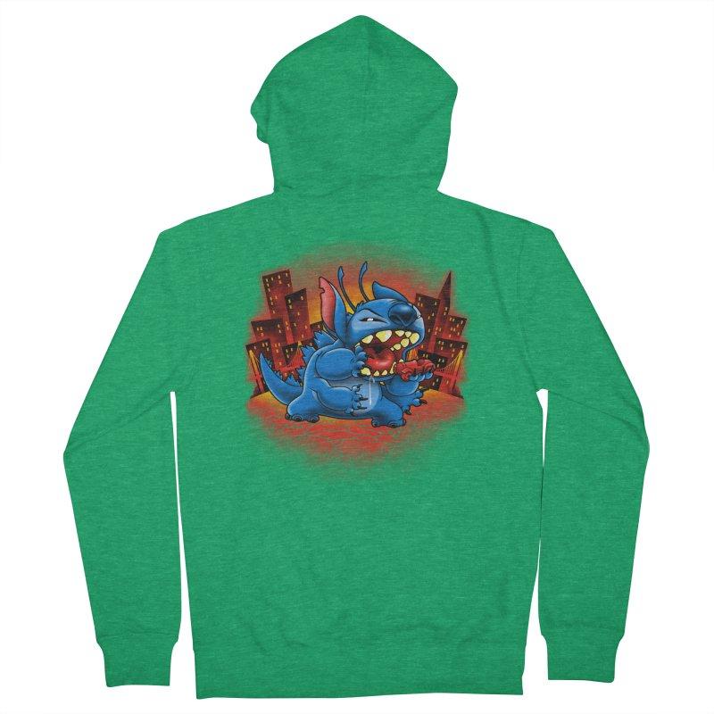 Stitchzilla Men's Zip-Up Hoody by harebrained's Artist Shop
