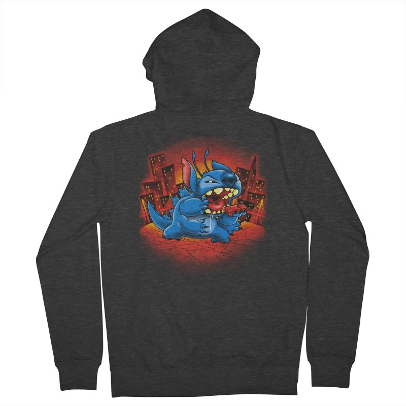 Stitchzilla Men's Zip-Up Hoody by harebrained's Artist Shop