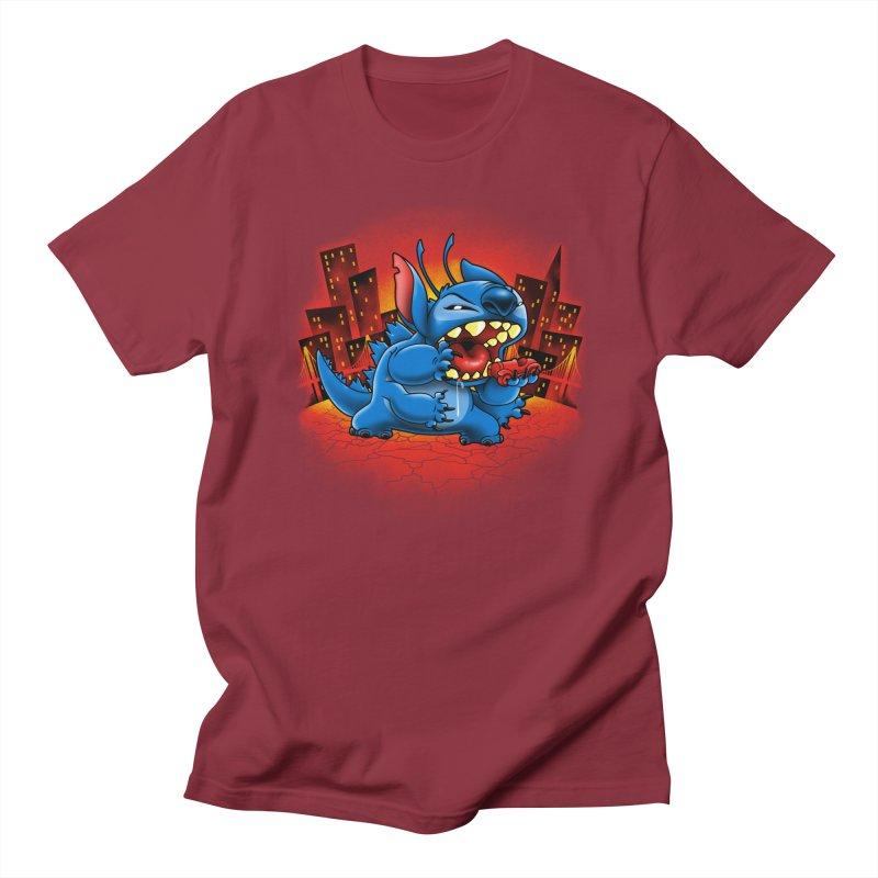 Stitchzilla Men's Regular T-Shirt by harebrained's Artist Shop