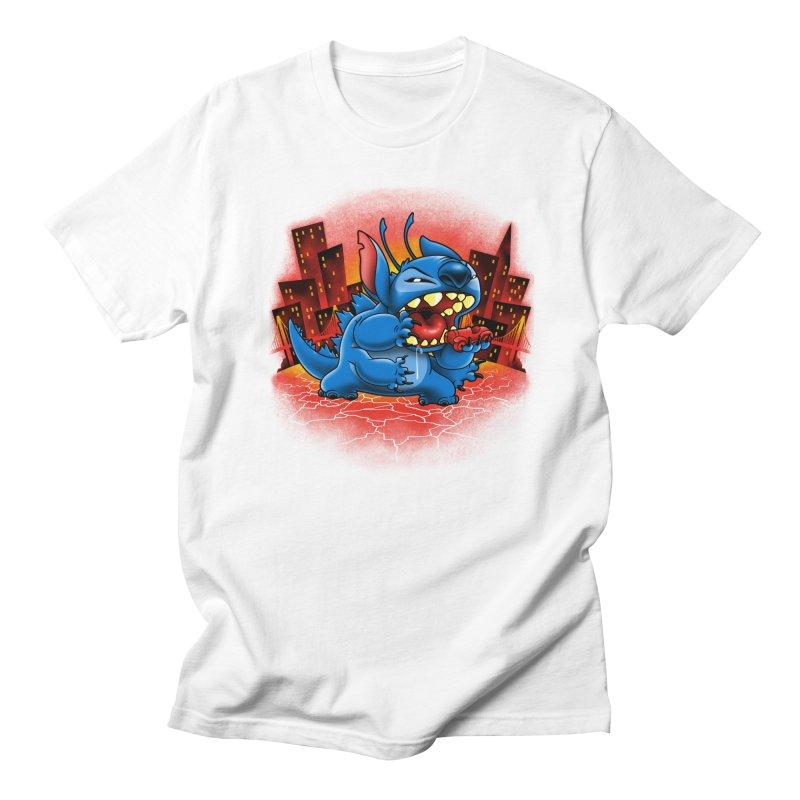 Stitchzilla Men's T-Shirt by harebrained's Artist Shop