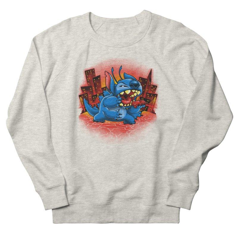 Stitchzilla Men's French Terry Sweatshirt by harebrained's Artist Shop