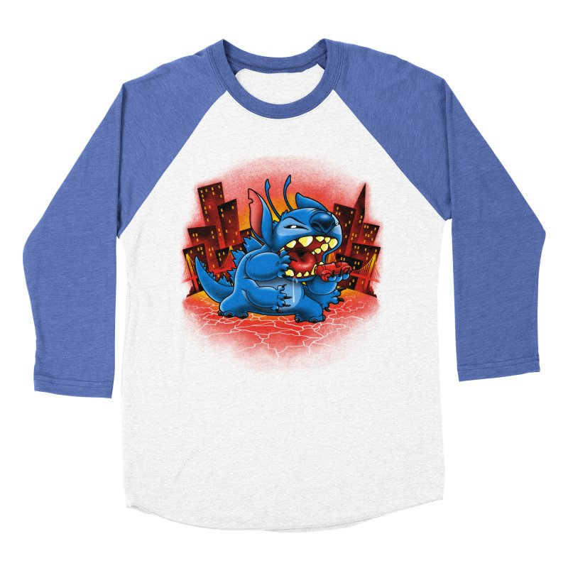 Stitchzilla Women's Baseball Triblend T-Shirt by harebrained's Artist Shop