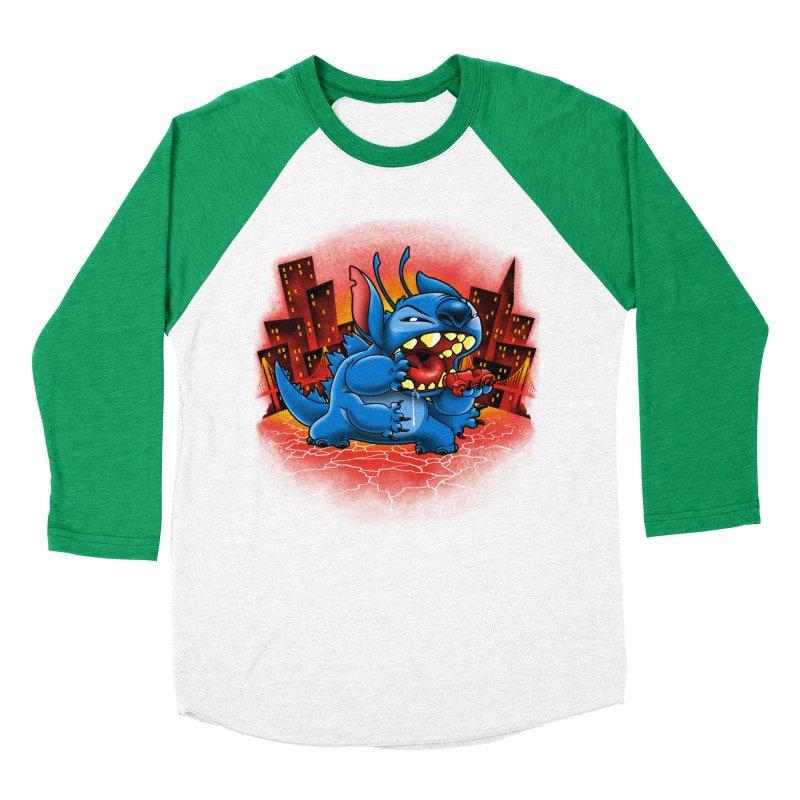 Stitchzilla Men's Baseball Triblend T-Shirt by harebrained's Artist Shop