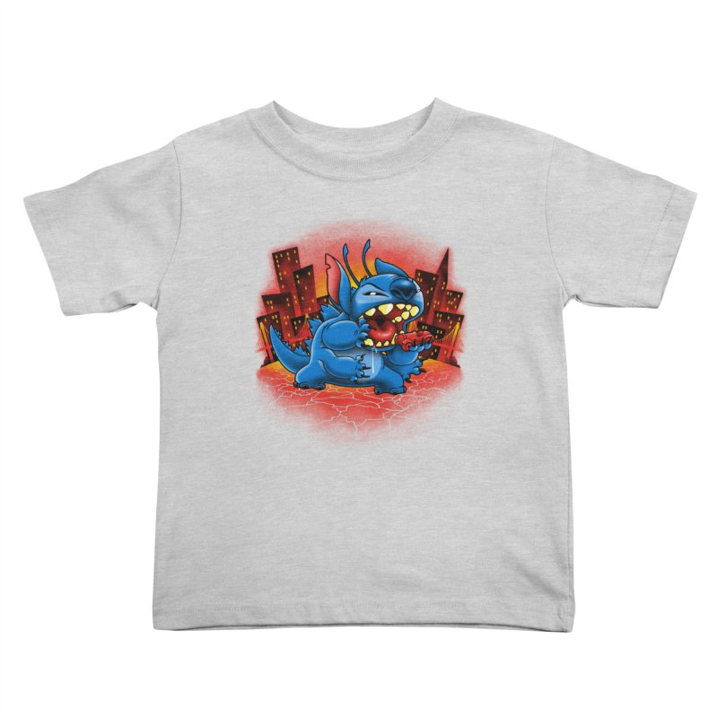 Stitchzilla Kids Toddler T-Shirt by harebrained's Artist Shop